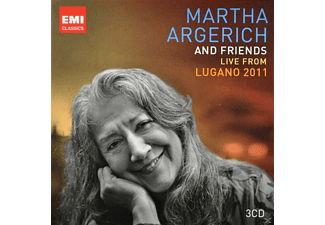 Martha Argerich - Argerich & Friends Live From Lugano 2011 [CD]