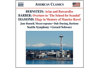 Gerard Schwarz, Seattle Symphony Orchestra, Jane Bunnell - Arias and Barcarolles / Ouvertüre / Elegy - (CD)