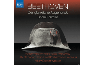 Ben Hughes, Peter Hoare, Claire Rutter, Stephen Gadd, Matilde Wallevik, Clio Gould, Westminster Boys Choir, City Of London Choir, Royal Philharmonic Orchestra - Der glorreiche Augenblick/Chorfantasie - (CD)