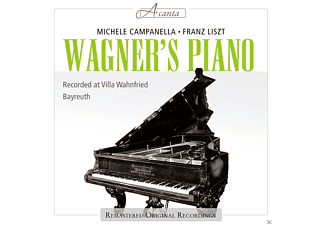 Michele Campanella - Wagner's Piano - (CD)
