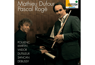 Pascal Roge, Mathieu Dufour - Music For Flute & Piano - (SACD Hybrid)