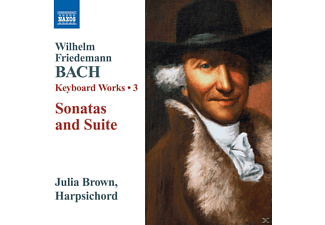 Julia Brown - Sonatas and Suite - Kexboard Works 3 - (CD)