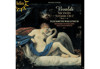 Elizabeth Wallfisch, Richard Tunnicliffe, Malcolm Proud - Six Violin Sonatas Op. 2, Nos 1-6 - (CD)