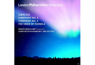 The London Philharmonic Orchestra - Sinfonien 5 & 6/Swan Of Tuonela - (CD)