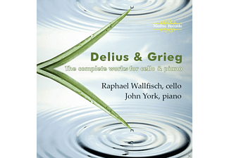 John York, Raphael Wallfisch - The Complete Works For Cello And Piano - (CD)