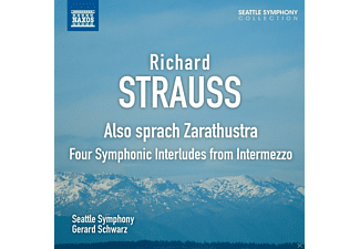 Gerard Schwarz, The Seattle Symphony - Also sprach Zarathustra/ Four Symphonic Interludes From Intermezzo - (CD)