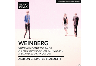 Allison Brewster Franzetti - Complete Piano Works 3 - (CD)