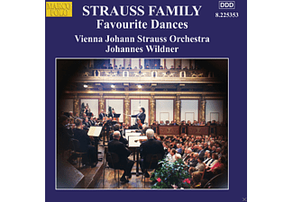 Vienna Johann Strauss Orchestra - Favourite Dances - (CD)
