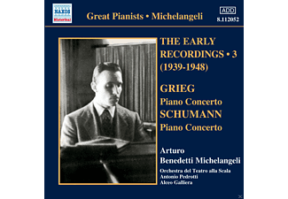Arturo Benedetti Michelangeli - Early Recordings Vol.3 - (CD)