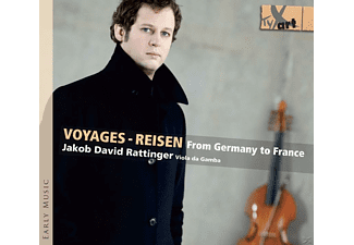 Jakob David Rattinger - Voyages - Reisen From Germany To France - (CD)