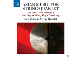 The New Zealand String Quartet - Asian Music for String Quartet - (CD)