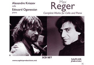 Alexandre Kniazev, Edouard Oganessian - Complete Works for Cello and Piano - (CD)