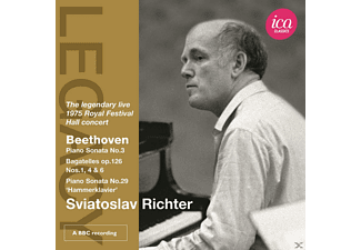 Sviatoslav Richter - Klaviersonate 3/Bagatellen - (CD)