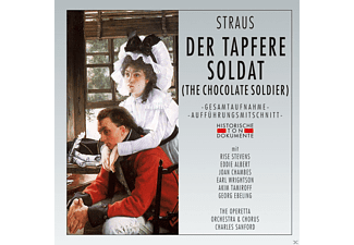 Rise Stevens, Eddie Albert, Joan Chambes, Earl Wrightson, Akim Tamiroff, Georg Ebeling, The Operetta Orchestra & Chorus - Der Tapfere Soldat (The Chocolate Soldier) - (CD)
