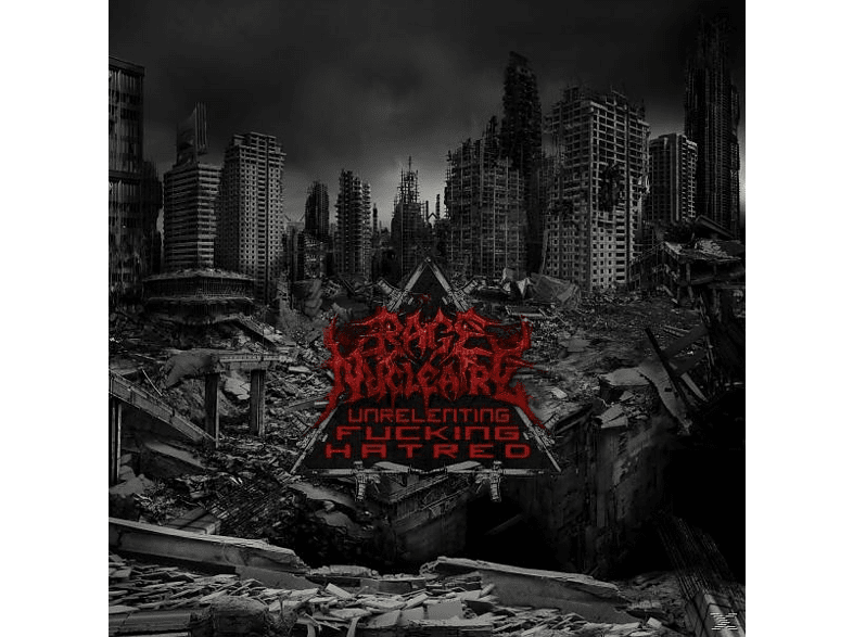 Rage Nucleaire - Unrelenting Fucking Hatred (Double Vinyl Incl.Dro [Vinyl]