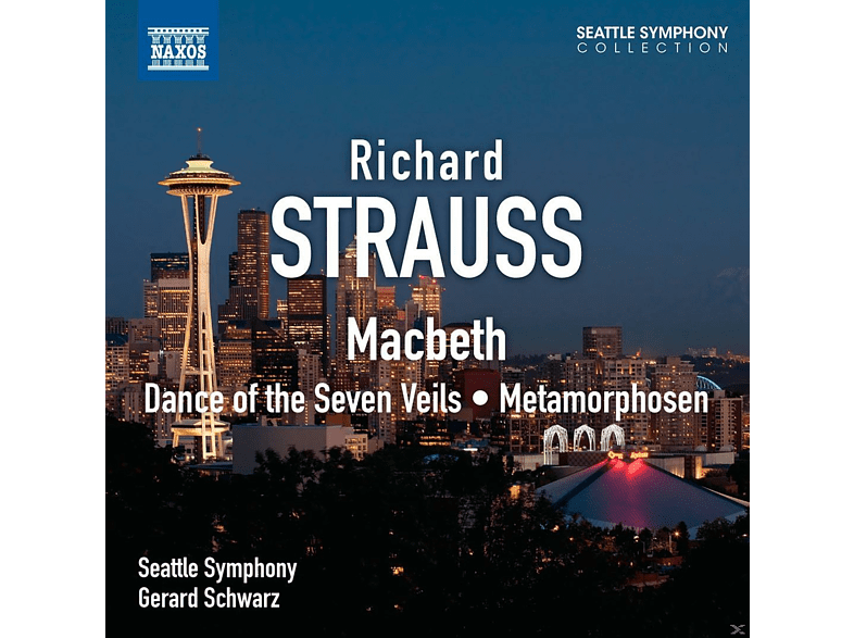 Gerard Schwarz, The Seattle Symphony - Dance of the Seven Veils / Metamorphosen [CD]
