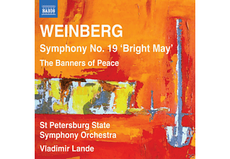 "Vladimir Lande, St. Petersburg State Symphony Orchestra - Symphony No. 19 "" Bright May "" - (CD)"