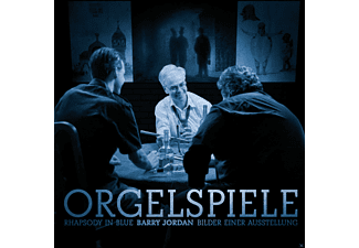 Barry Jordan - Orgelspiele - (CD)