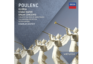 Francois Polgar, Peter Hurford, R.T.F. Choeur De Radio France, Orchestre National De France - Gloria/Stabat Mater/Orgelkonzert - (CD)