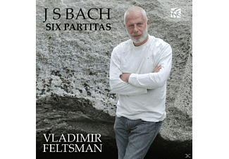 Vladimir Feltsman - Six Partitas - (CD)