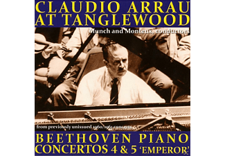 "Claudio Arrau, Boston Symphony Orchestra - Concertos 4 & 5 "" Emperor "" - (CD)"