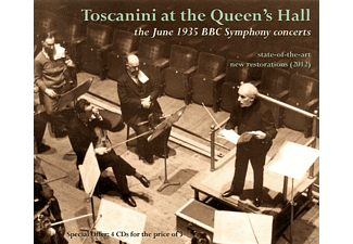 BBC Symphony Orchestra, Arturo Toscanini - Toscanini at the Queen's Hall - (CD)