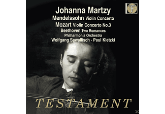 Johanna Martzy, The Philharmonia Orchestra - Violin Concerto - Violin Concerto No. 3 - Two Romances - (CD)