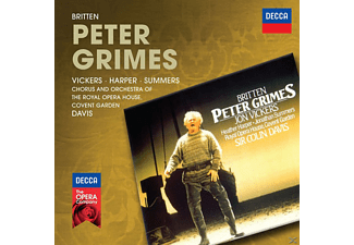 Heather Harper, Jonathan Summers, Vickers Jon, Orchestra Of The Royal Opera House - Peter Grimes - (CD)