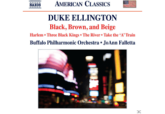 Joann Faletta, Buffalo Philharmonic Orchestra - Black, Brown, and Beige - (CD)