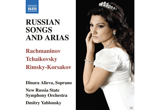 Dinara Alieva, Dmitry Yablonsky, New Russia State Symphony Orchestra - Russian Songs And Arias - (CD)