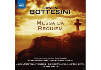 Joyful Company Of Singers, Thomas Martin - Messa Da Requiem - (CD)