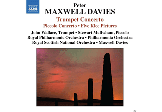 John Wallace, Stewart McIlwham, Royal Philharmonic Orchestra - Trompetenkonzert / Piccolokonzert / Five Klee Pictures - (CD)