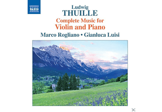 Marco Rogliano, Gianluca Luisi - Complete Music for Violin and Piano - (CD)
