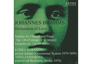 Anna Zassimova, Kyrill Rybakov - Declaration of Love - (CD)