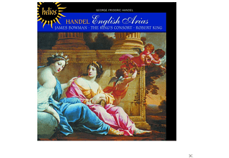 James Bowman, The King's Consort - English Arias - (CD)