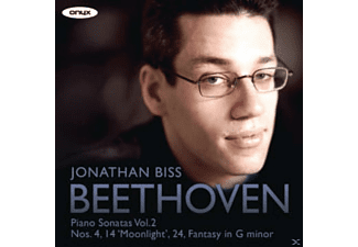 Jonathan Biss - Beethoven: Piano Sonatas Vol. 2 - (CD)
