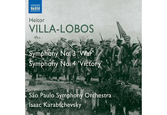 Sao Paolo Symphony Orchestra - Sinfonien 3+4 - (CD)