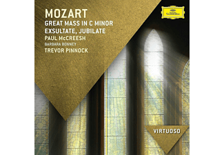 VARIOUS - Great Mass In C Minor/  Exsultate, Jubilate - (CD)