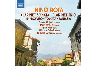 VARIOUS - Clarinet Sonata/ Clarinet Trio/ Improvviso/ Toccata/ Fantasia - (CD)