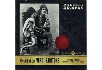 VARIOUS - The Art Of Verdi Baritone - (CD)