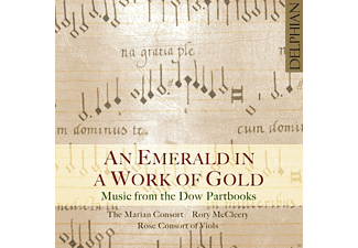 Rose Consort Of Viols, Rory McCleery, Marian Consort - An Emerald In A Work Of Gold - (CD)