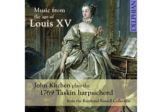 John Kitchen - Music From The Age Of Louis XV - (CD)