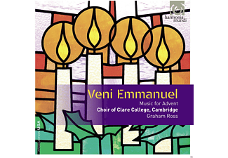 Choir Of Clare College Cambridge - Veni Emmanuel-Musik Zum Advent - (CD)