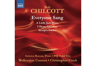 Gemma Beeson, Christopher Finch, Will Todd Trio, Wellensian Consort - Everyone Sang - (CD)