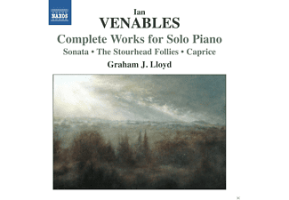 Graham J. Lloyd - Complete Works for Solo Piano - (CD)