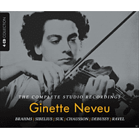 VARIOUS - Ginette Neveu - The Complete Studio Recordings [CD]