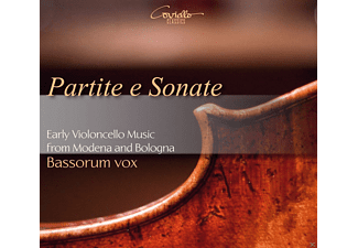 Bassorum Vox - Partite e Sonate - Early Violoncello Music from Modena and Bologna - (CD)