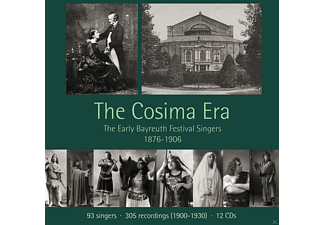 VARIOUS - The Cosima Era - The Early Bayreuth Festival Singers 1876-1906 - (CD)