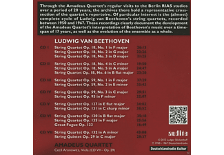 Amadeus Quartett - The Rias Amadeus Quartet Recordings, Vol. 1 - (CD)
