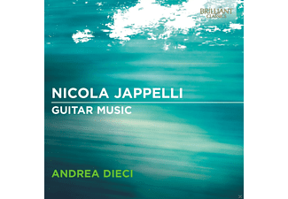 Andrea Dieci - Guitar Music - (CD)